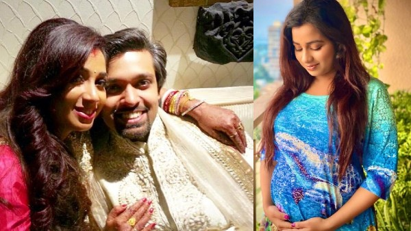 Singer Shreya Ghoshal Announces Pregnancy; Flaunts Her Baby Bump In A Cute Picture