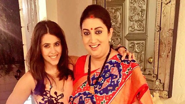Ekta Kapoor Wishes Smriti Irani On Her Birthday, Says She Is Jealous Of Her Losing A Lot Of Weight