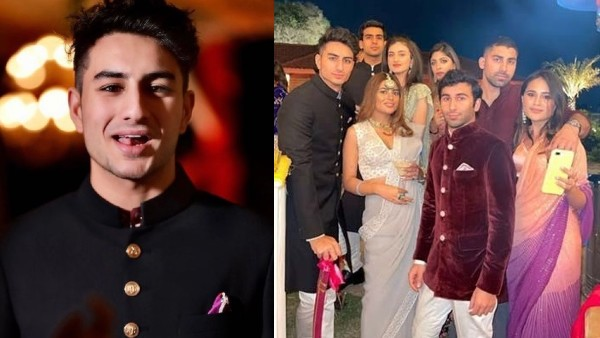 Ibrahim Ali Khan Steals The Show At A Wedding