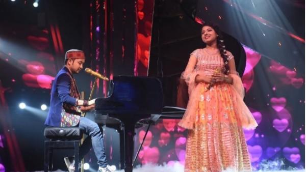 Pawandeep Rajan and Arunita Kanjilal