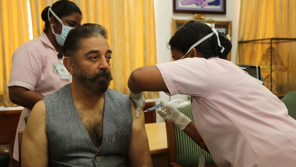 Kamal Haasan Receives COVID-19 Vaccination; Pens Down An Inspiring Note