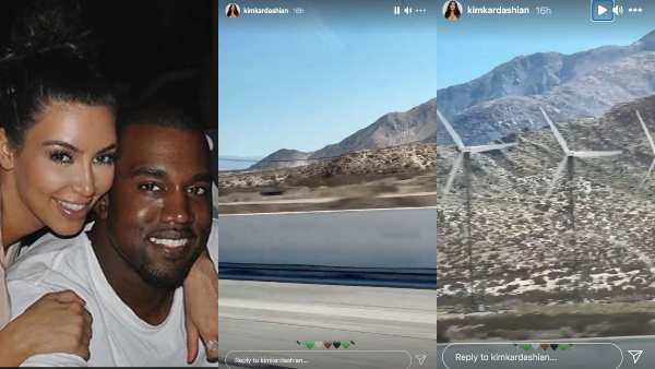 Kim Shares IG Story With 'Drivers License' Playing In The Background
