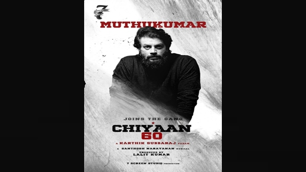 Chiyaan 60: Muthukumar Joins The Team Of Vikram And Dhruv Starrer