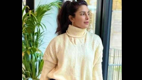 Priyanka Chopra Shares A Glimpse Of The Sweater Knitted By Her Mother, See Pics