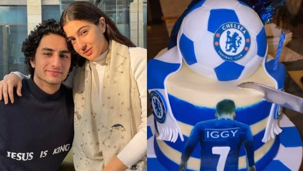 Sara Ali Khan Surprises Brother Ibrahim With A Football-Themed Cake On His Birthday; Pens A Sweet Wish