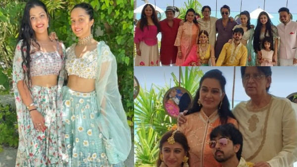 Shraddha Kapoor & Her Rumoured Beau Rohan Shrestha Have A Blast At Her Cousin Priyaank's Wedding In Maldives