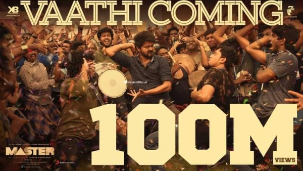 Vaathi Coming From Master Creates New Records; Thalapathy Vijay Fans Celebrate!
