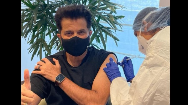Anil Kapoor Takes His Second Dose Of COVID-19 Vaccine; Son Harsh Varrdhan Kapoor Reacts!