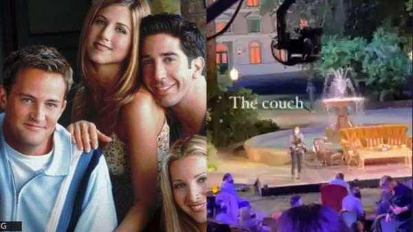 Friends Reunion Filming Begins At Warner Bros Studio