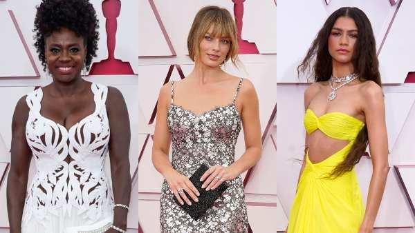 Oscars 2021: Riz Ahmed, Margot Robbie, Zendaya Dazzled In Best Red Carpet Looks For The Night