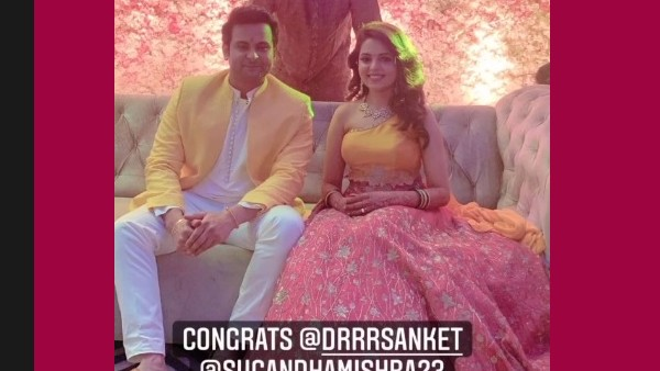 Also Read: Sugandha Mishra & Dr Sanket Bhosale Tie The Knot; The Couple Looks Adorable Together
