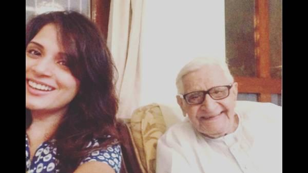 Richa Chadha Mourns The Loss Of Beau Ali Fazal's Grandfather, Says 'Tears Won't Stop'