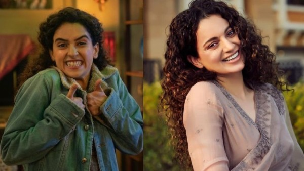 Sanya Malhotra On Kangana's Appreciation Tweet For Pagglait: My Hands Were Shaking, I Couldn't Believe It
