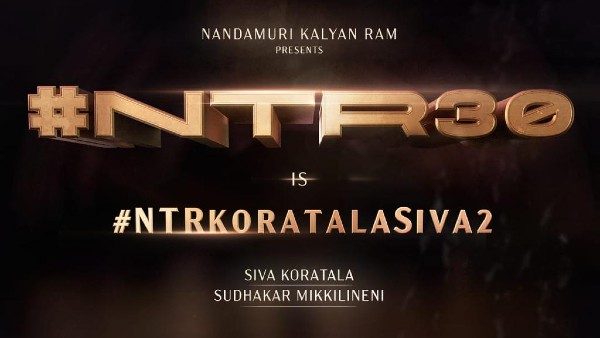 Jr NTR And Koratala Siva Collaborate For A Pan India Project