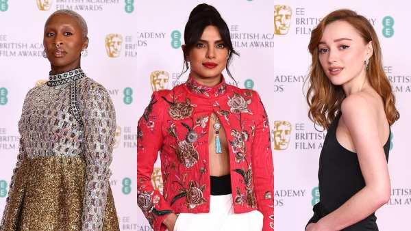 Phoebe Dynevor, Priyanka Chopra & Others At BAFTA 2021