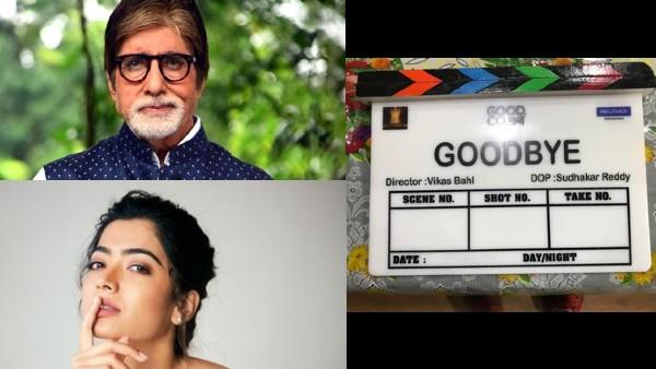 Amitabh Bachchan And Rashmika Mandanna Team Up For Vikas Bahl's Goodbye; Film Goes On Floors