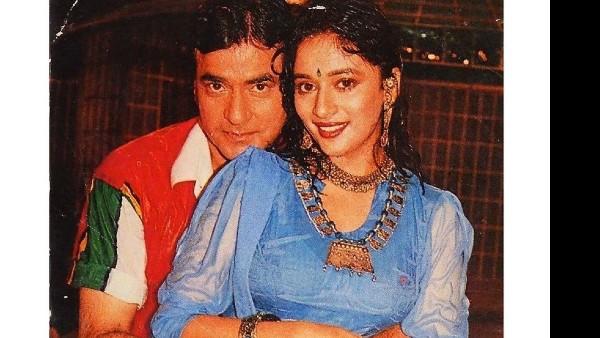Jeetendra With Dhak-Dhak Girl Madhuri Dixit