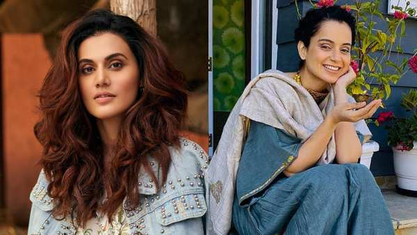 Kangana Ranaut Reacts To Taapsee Pannu's Award Winning Speech Thanking Her For 'Pushing Boundaries'