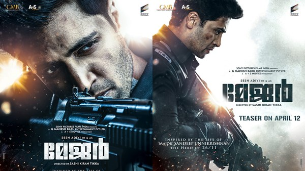 Adivi Sesh Starrer Major – Biopic Of Sandeep Unnikrishnan To Release In Malayalam Too
