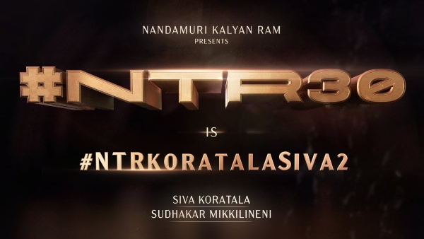 NTR 30 Is Launched: Jr NTR To Join Hands With Koratala Siva Once Again!