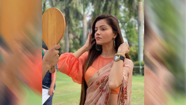 Rubina Dilaik Stuns In A Saree, Shares Instagram Reel With A Twist