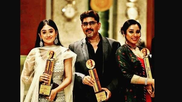 Shivangi Joshi & Rupali Ganguly With Rajan Shahi