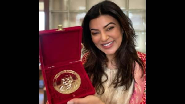Sushmita Sen Wins Champions Of Change Awards