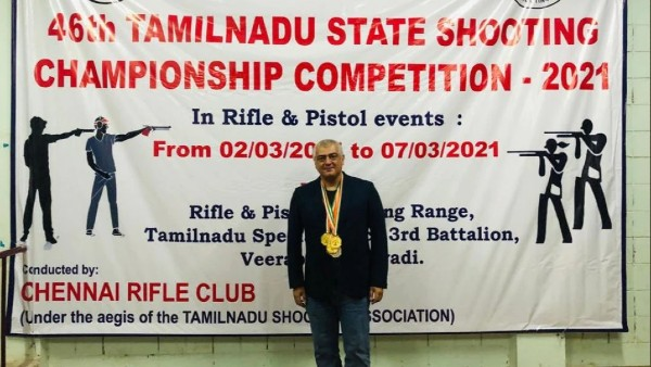 Ajith Wins Gold Medal
