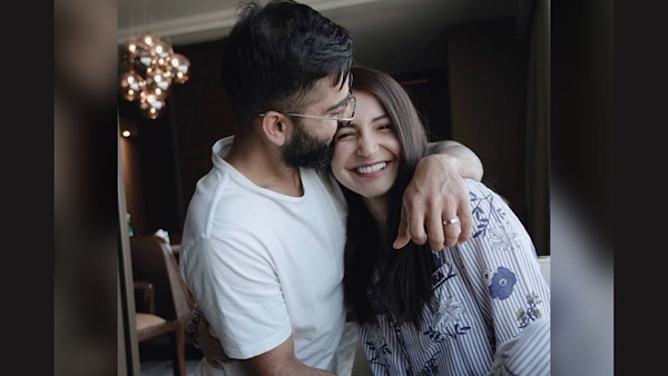 Virat Kohli Blows Kisses To Wife Anushka Sharma Post Half-Century, Dedicates It To Their Daughter Vamika