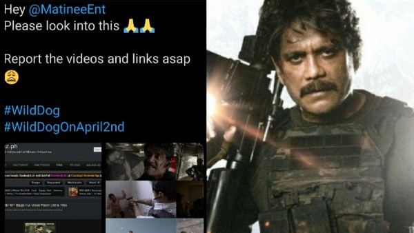 Also Read: Wild Dog Leaked Online Hours Before Release; Nagarjuna Fans Request Makers To Report The Piracy Links