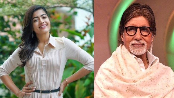 Rashmika Mandanna Says She Never Thought She Would Get To Work With Amitabh Bachchan
