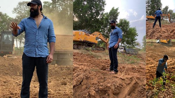 Yash Intends To Build Lakes On His Land