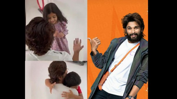 Allu Arjun Tests Negative For COVID-19, Shares Emotional Video As He Finally Meets His Kids After 15 Days
