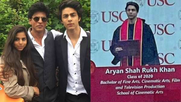 Aryan Khan's Picture From Graduation Ceremony Goes Viral; Fans Congratulate Proud Parents SRK & Gauri Khan