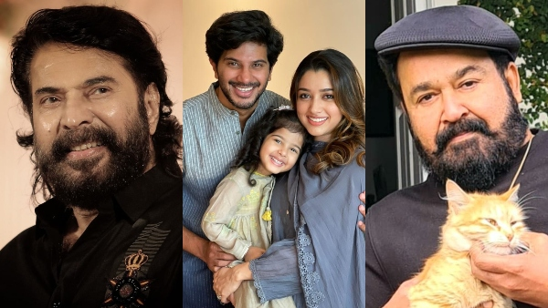 Eid 2021: Mammootty, Mohanlal, Dulquer Salmaan And Others Wish Fans