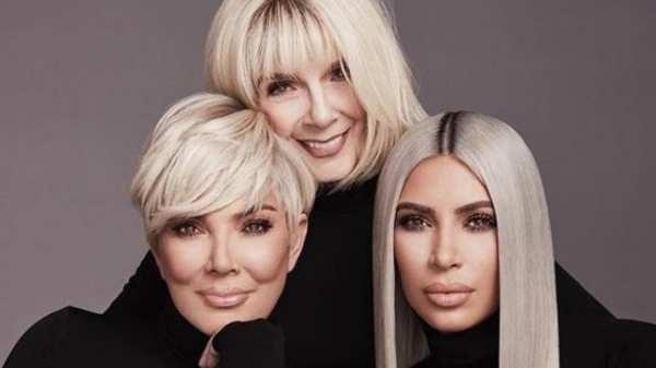 Kim Kardashian Poses In Bikini Next To Her Grandmother MJ, Fans Wonder If The Pic Is Photoshopped