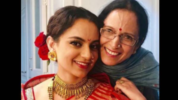 Kangana Ranaut Getting A Head Massage From Her Mother Is The Most Adorable Sight