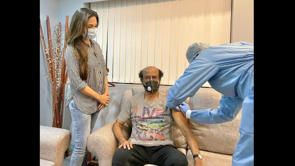 Rajinikanth Gets Second Jab Of COVID-19 Vaccine, Fans Appreciate The Superstar