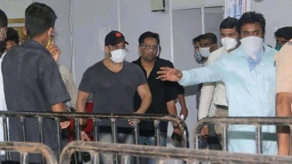 Salman Receives Second Jab Of COVID-19 Vaccine