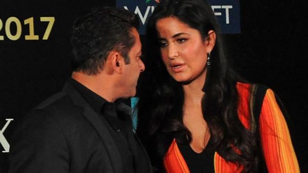 Caught On Camera: When Salman Khan Asked Katrina Kaif To Adjust Her Dress To Avoid Wardrobe Malfunction