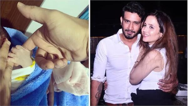 Choti Sarrdaarni Fame Abhilasha Jakhar And Vineet Kumar Chaudhary Blessed With A Baby Boy; SEE PIC