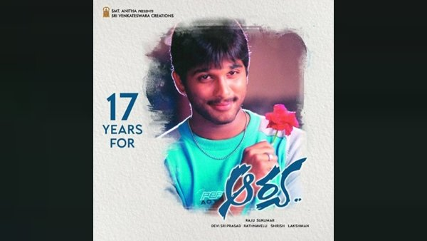 17 Years Of Arya! Allu Arjun Pens Heartfelt Notes On Instagram