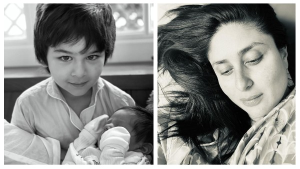 Kareena Kapoor Khan Shares A Closer Glimpse Of Younger Son With Taimur On Mother's Day, SEE PIC