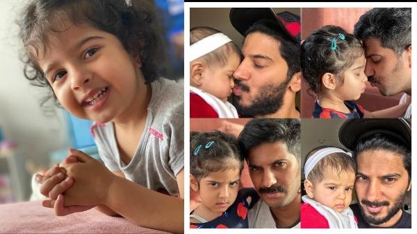Dulquer Salmaan And Mammootty Wish Maryam On Her 4th Birthday