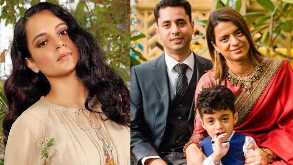 Kangana Ranaut Wishes Sister Rangoli On Her Wedding Anniversary; 'You Both Make Us Believe In True Love'