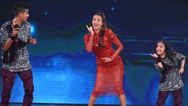 Super Dancer 4: Malaika Arora Shakes A Leg With Contestant Florina To The Song 'Disco Station'