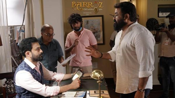 Prithviraj Sukumaran Opens Up About Mohanlal's Barroz