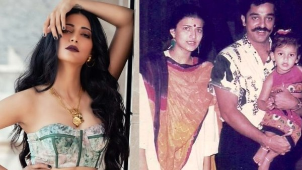 Shruti Haasan is happy that her parents have separated;