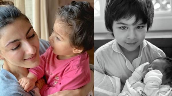 Soha Ali Khan Opens Up On Kareena And Saif's Second Son
