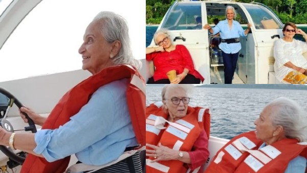 Waheeda Rehman, Helen And Asha Parekh's Vacation Pics From Andaman Go Viral; Fans Say 'Retirement Goals'